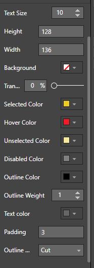Отдельные цвета для элементов слайсера в Power BI