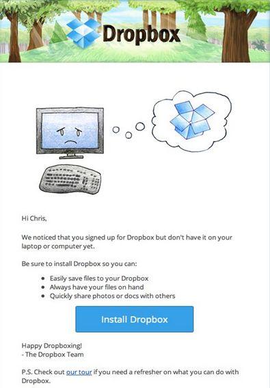 Реактивация от DropBox