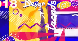 Тренды в дизайне в 2018 году