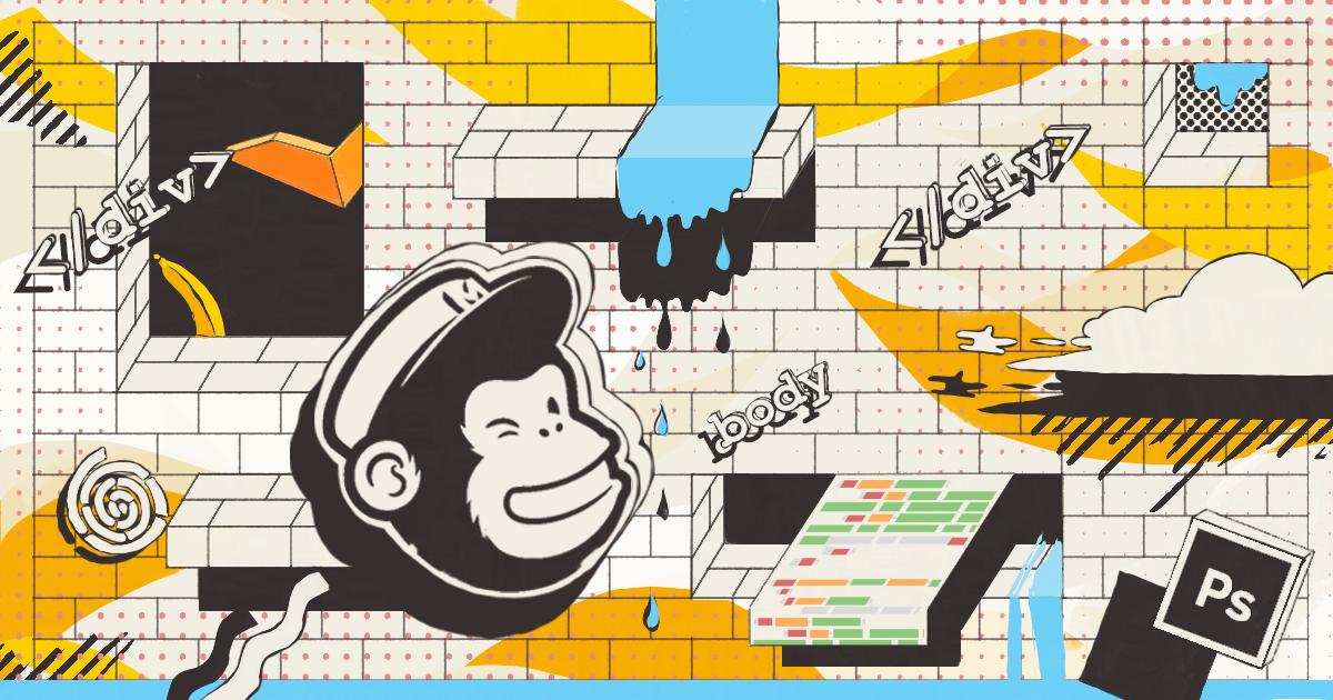Как работать с собственным html-шаблоном в визуальном редакторе MailChimp