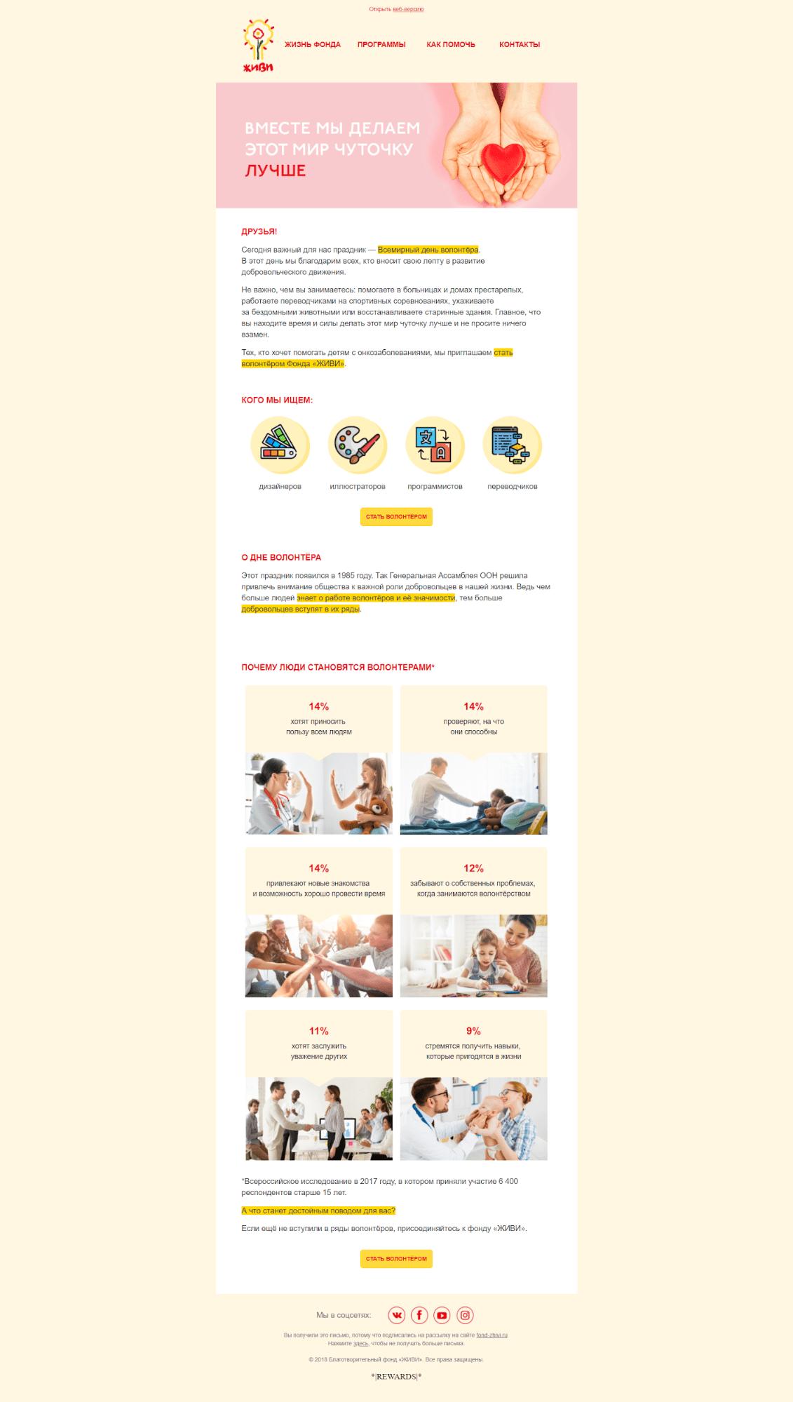 письма по событиям, email-маркетинг