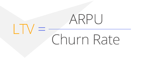 бизнес-аналитика, LTV - ARPU