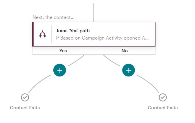 Customer Journey Map в MailChimp условие для проверки письма перед отправкой