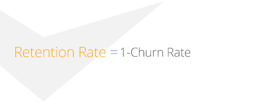 использование Retention Rate при расчёте churn rate