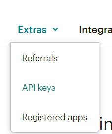 путь к API keys