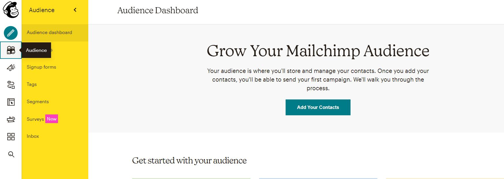 списки в мейлчимп бесплатная email-рассылка