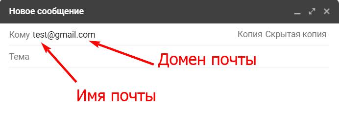 домен почты